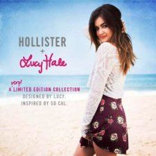Lucy Hale designs her debut range for Hollister