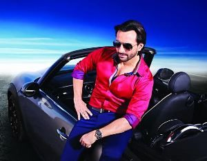 Oxemberg shoots advertisement campaign with Saif Ali Khan