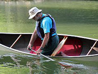 Canoe designed with Biotex Flax from Composites Evolution