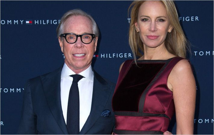 Tommy & Dee Hilfiger at new store