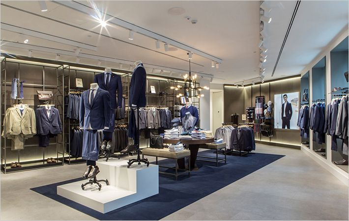 A view of new Mango store in Milan
