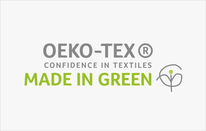 Loftex China towels bag 'Made in Green' Oeko-Tex label