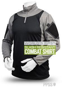 World's 1st slash resistant combat shirt launched