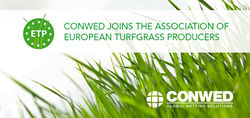 Conwed partners European Turfgrass Producers Association