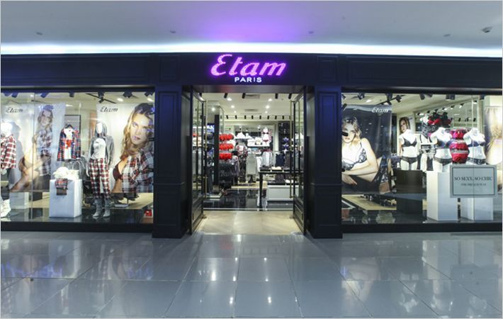 Lingerie major Etam opens first store in China