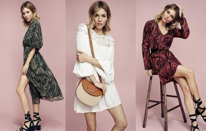 Sienna Miller face of Lindex spring 2016 campaign