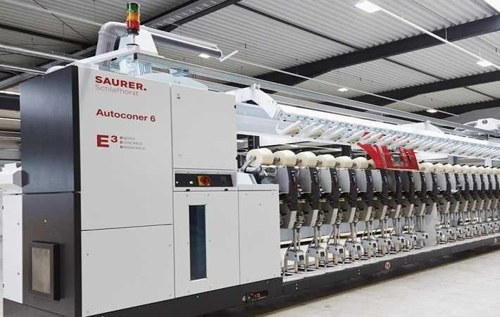 Schlafhorst delivers Autoconer 6 to first customer