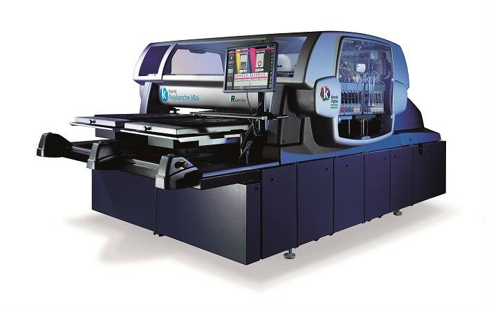 Avalanche HD6 printer Rseries; Courtesy: Kornit Digital