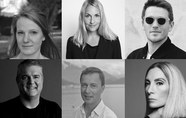 Courtesy: Copenhagen Fashion Summit; (clockwise): Carys Roberts, Cecilia Brannsten, David Sinatra, Eric Sprunk, Lee Alexander Risby, Tonne Goodman
