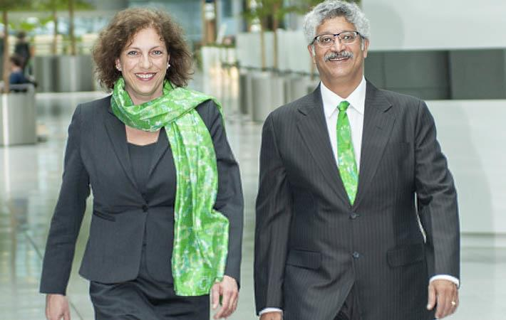 Claudia Kersten and Rahul Bhajekar