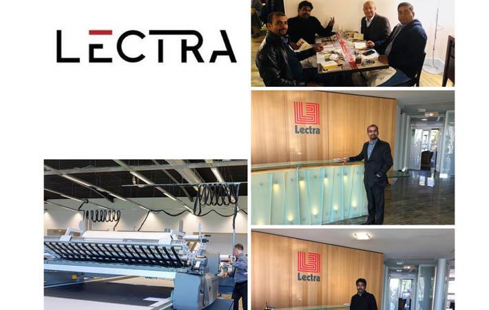 Lectra hosts India IATC technology day in Cestas, France