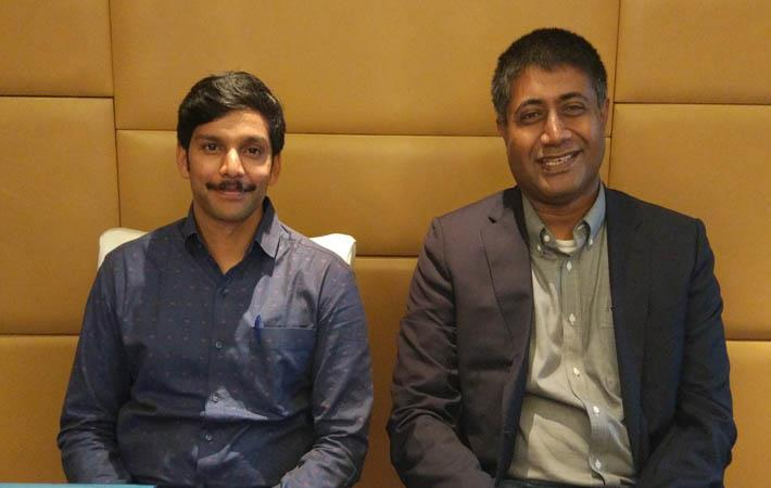 Courtesy: Amazon India; (L to R): Vivek Somareddy along with Gopal Pillai at the launch