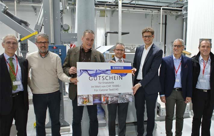 Getzner installs 1000th automation solution by Benninger