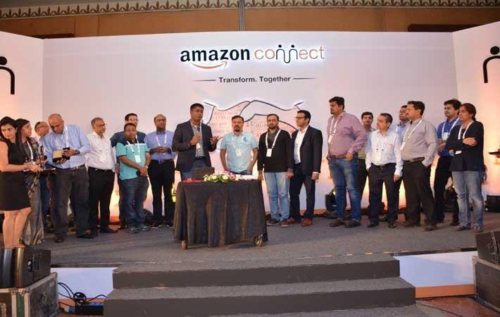 Courtesy: Amazon India; Gopal Pillai, Director & General Manager, Seller Services, Amazon India celebrating Amazon