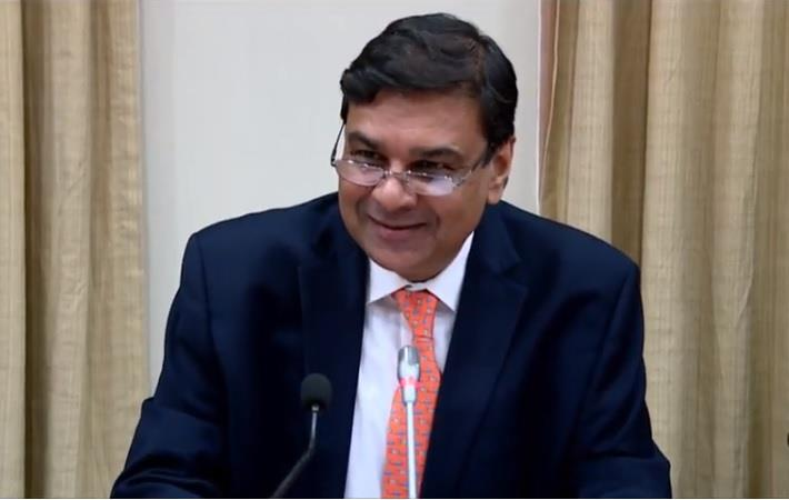 RBI Governor Urjit Patel addressing a press conference after the release of second Bi-Monthly Monetary Policy, 2018-19. Courtesy: Youtube/RBI