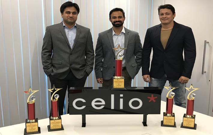 (l-r) Sudip Salgaonkar, Abhishek Shetty and Rafiq Shaikh ; Courtesy: Celio India