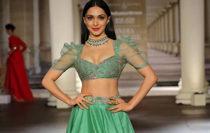 Kiara Advani debuts at India Couture Week