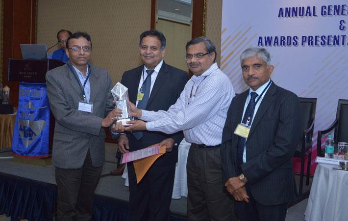 L-R: Nipun Soni, Site Head - Baroda; Janak Mehta, Past President, DMAI; Jitendra Patel, President, DMAI; and P Raghavendra Rao, Secretary, department of chemicals & Petrochemicals, Govt. of India.