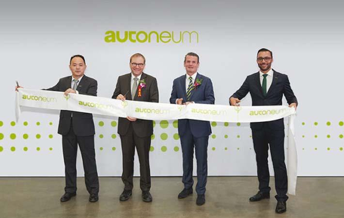 Autoneum coming up with two new plants in China
