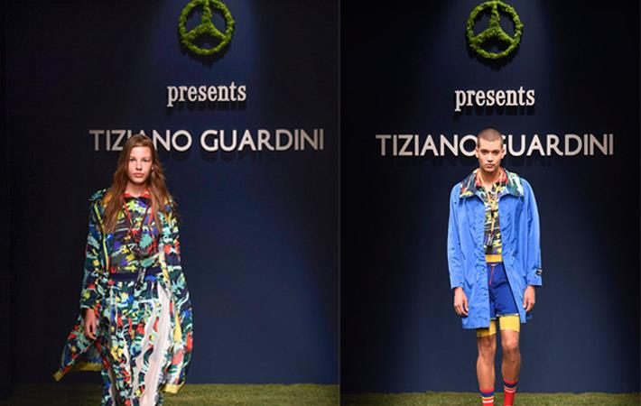 Fulgar & Tiziano Guardini show green fibres at MFW 2018