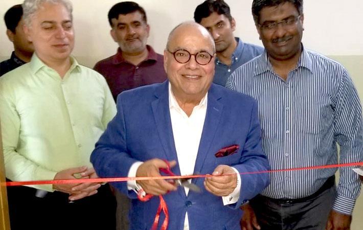 Ram Sareen at the NTU CAD lab inauguration/Courtesy: PRWeb