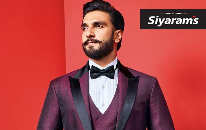 Ranveer Singh is brand ambassador of Siyaram