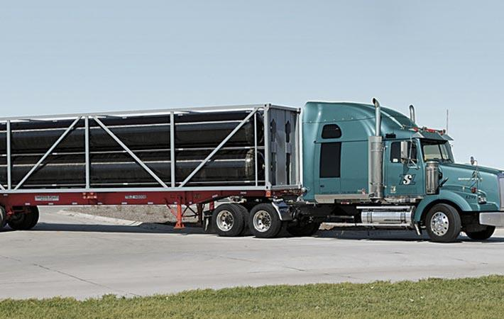 Hexagon delivers first TITAN53 gas transport module