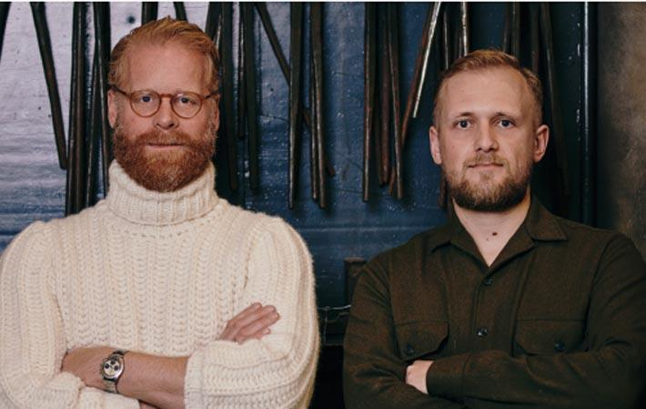 left to right: Sebastian Klinder, Moritz Fuchs/Courtesy: Munich fabric