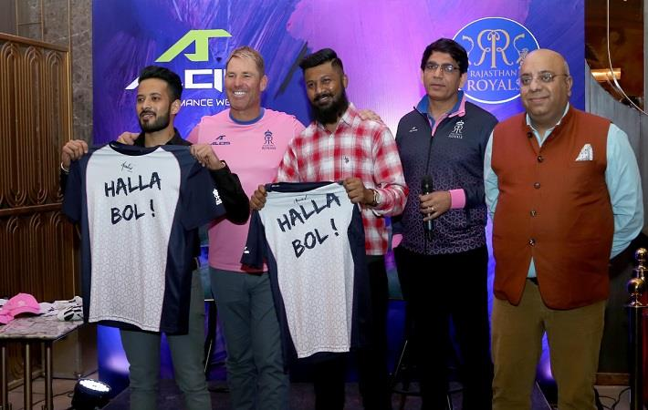 Alcis knitting & merchandise partner for Rajasthan Royals