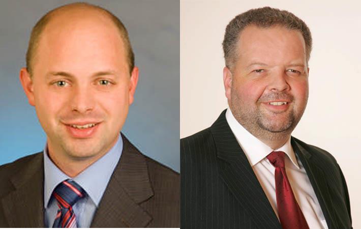 Jürgen Eizinger and Wolfgang Plasser ; Pic: Lenzing