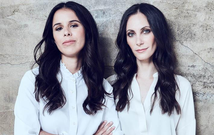 Trina Spear and Heather Hasson, Figs co-founders and co-CEOs; Pic: Figs