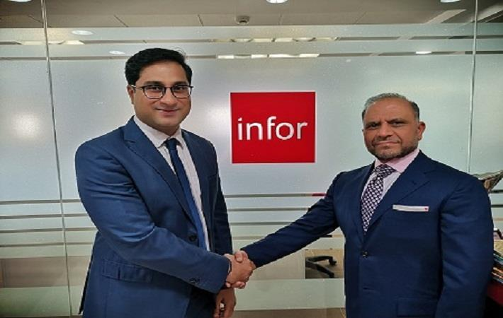 Vibhu Kapoor, Director of Channel Sales, IMEA, Infor (left) and Shiv Kaushik, CEO, ICCG; Courtesy: Infor