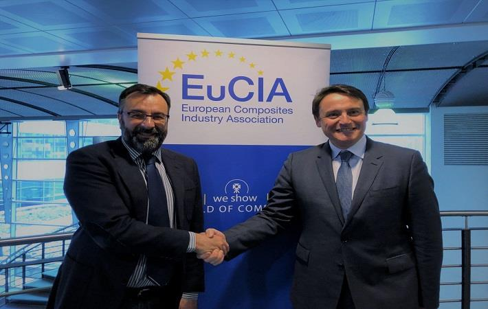 Eric Pierrejean, JEC Group CEO and Roberto Frassine, EuCIA president Courtesy: EuCIA