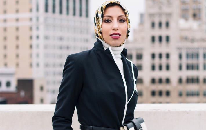 Haute Hijab Co-Founder & CEO Melanie Elturk/Courtesy: PR Newswire