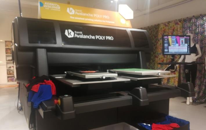 5e6b1abce Kornit unveils Avalanche Poly Pro at HK Discover Event - Fibre2Fashion