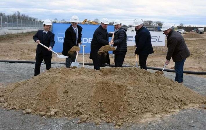 PFAFF holds groundbreaking ceremony for new KSL plant
