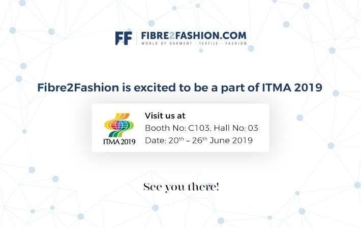 Fibre2Fashion to participate in ITMA 2019
