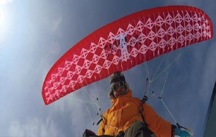 Porcher to unveil extra-light fabric at Red Bull X-Alps