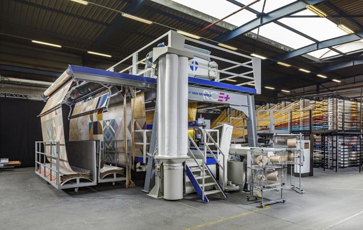 carpet weaving machines at ITMA 2019