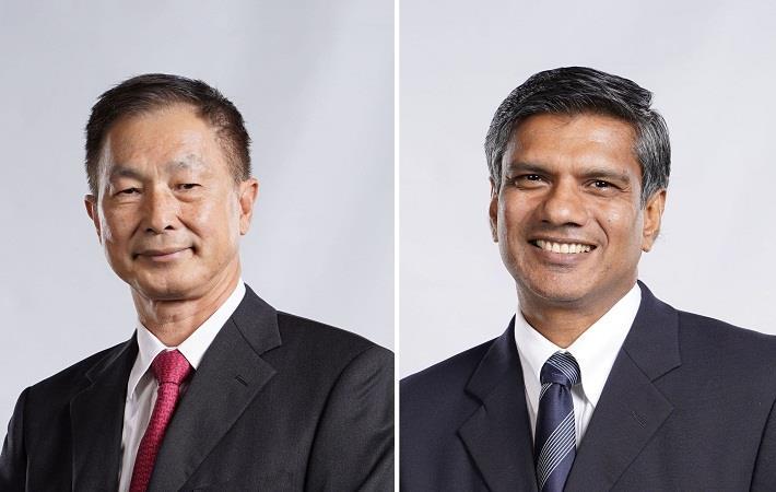 Bill Lam, Chairman; Shrihan Perara, CEO; Pic: Teejay Lanka