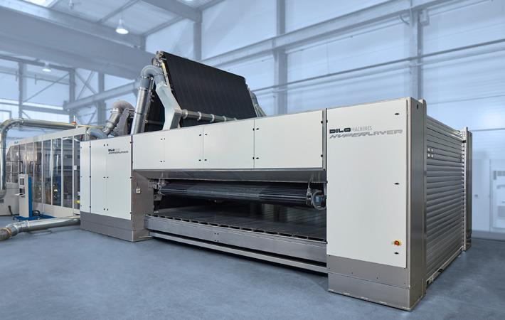 DiloGroup presents latest textile machines at ITMA