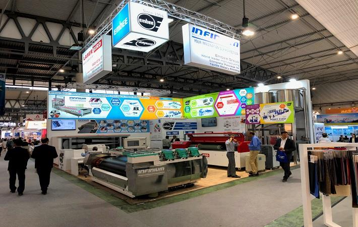 Embee displays latest solutions in rotary printing at ITMA