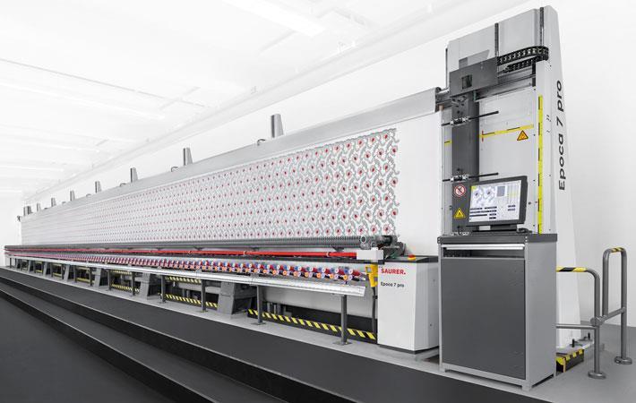 Saurer displays intelligent embroidery solution at ITMA