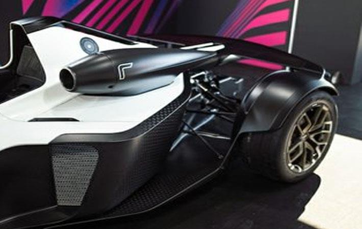 BAC installs Haydale graphene-enhanced prepreg in race car