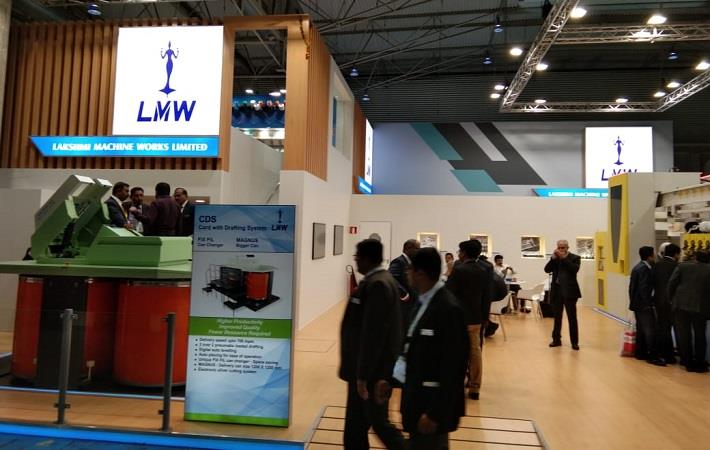 LMW unveils 3-pronged approach for spinning at ITMA