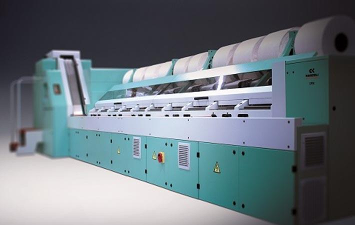 Marzoli displays textile spinning machines at ITMA