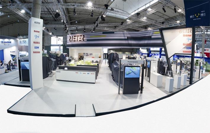 Rieter displays machines for spinning processes at ITMA