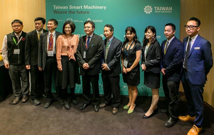 TAITRA shows smart textile machinery at ITMA 2019
