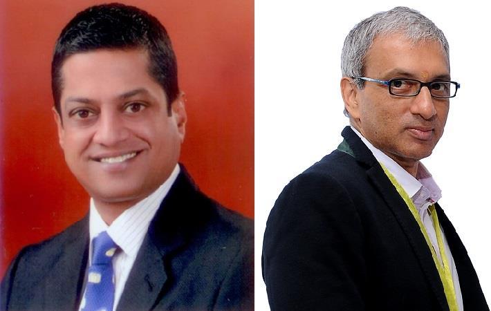 Ashwin Chandran (left) and Ravi Sam. Pic: SIMA