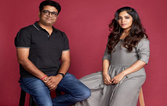 Vikash Pacheriwal, co-founder, Raisin and Bhumi Pednekar, brand ambassador of Raisin; Pic: Raisin